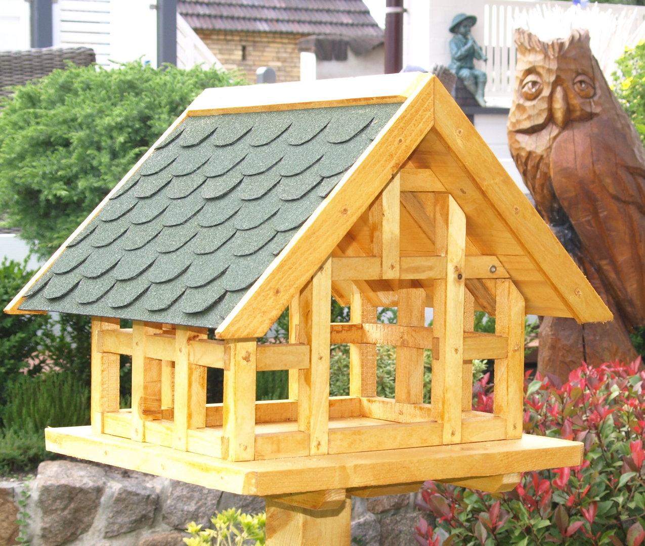 xl fachwerk vogelhaus mit gr nen schindeldach karl hufeld ihr vogelhaus. Black Bedroom Furniture Sets. Home Design Ideas